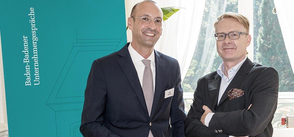 Carsten w/ Managing Director Baden-Badener Unternehmergespräche